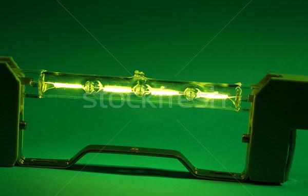 Halojen ampul bilim lamba enerji Stok fotoğraf © janaka