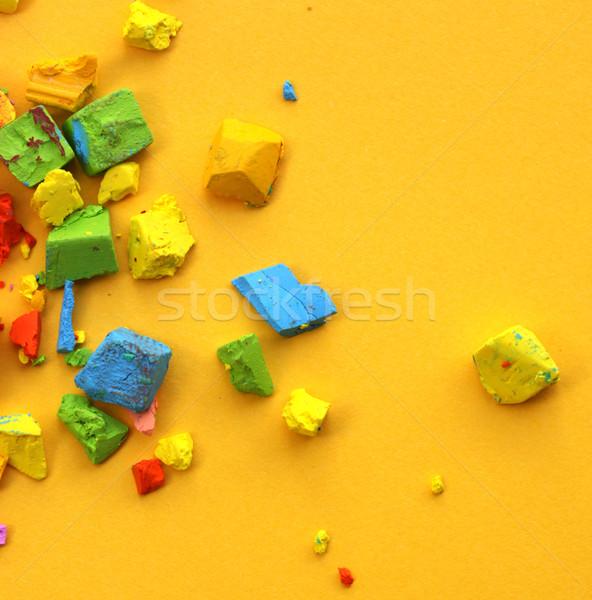 Oil pastels Stock photo © janaka