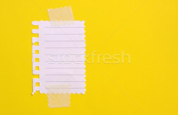 Notepad carta ufficio libro Foto d'archivio © janaka