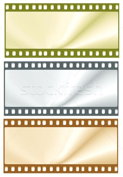 Сток-фото: 35мм · фильма · кадры · фон · кино