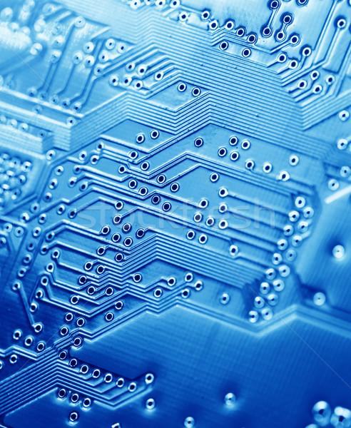 Circuit électronique internet industrie science Photo stock © janaka