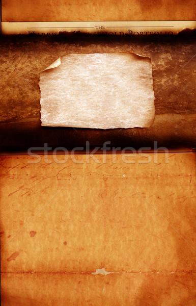 Papel velho papel pintura fundos sujo Foto stock © janaka