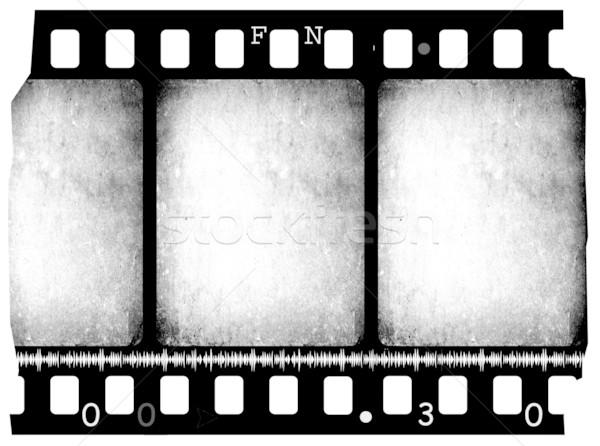 öreg film közelkép klasszikus film csíkok Stock fotó © janaka