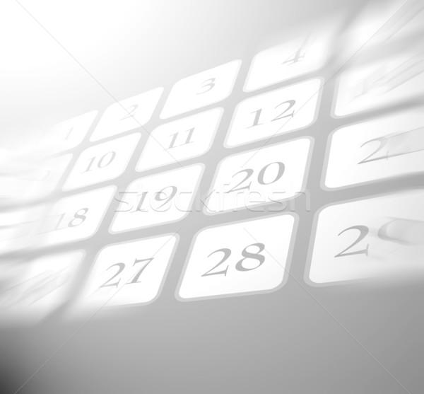 Stockfoto: Kalender · papier · toekomst · vakantie · dagboek