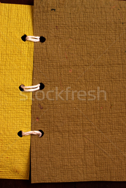 ручной работы бумаги текстуры аннотация природы Сток-фото © janaka