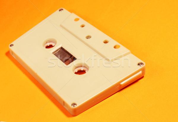 Audio cassette klassiek spelen tape Stockfoto © janaka