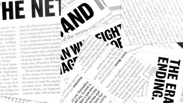 новых бумаги Последние новости газета связи Сток-фото © janaka