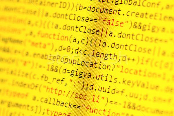 Html コンピュータ 抽象的な 技術 教育 ストックフォト © janaka