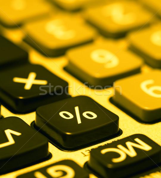 Zdjęcia stock: Kalkulator · kluczowych · działalności · edukacji · czarny
