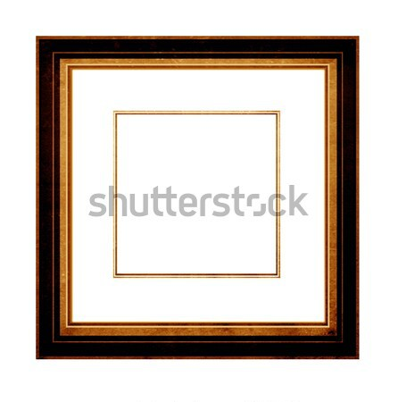 Képkeret közelkép fa fal absztrakt terv Stock fotó © janaka