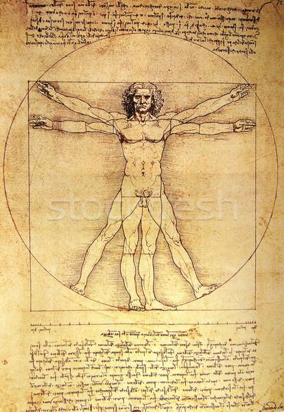человека фото бумаги тело области архитектура Сток-фото © janaka