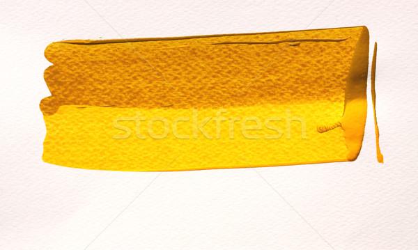 Verf abstract kleur inkt borstel Stockfoto © janaka