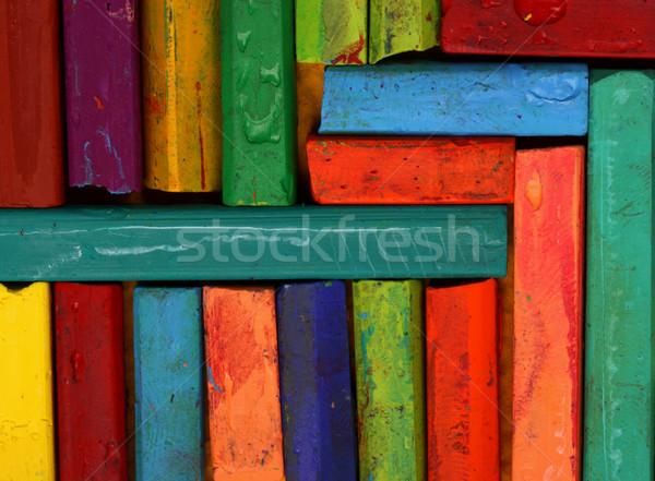 нефть школы дизайна краской Сток-фото © janaka