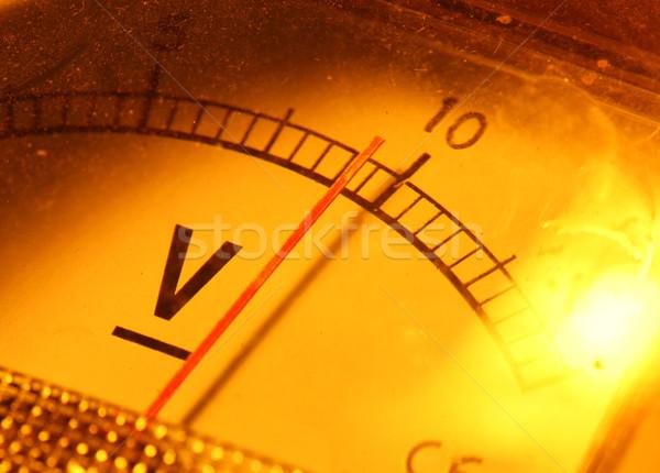 Electric meter Stock photo © janaka