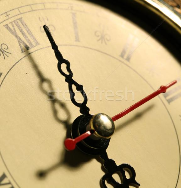 Old clock face Stock photo © janaka