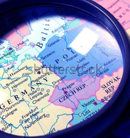 world map Stock photo © janaka
