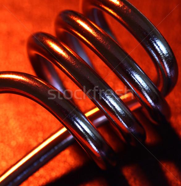 Chauffage élément eau métal industrie Photo stock © janaka