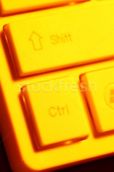 клавиатура бизнеса служба ноутбука Сток-фото © janaka