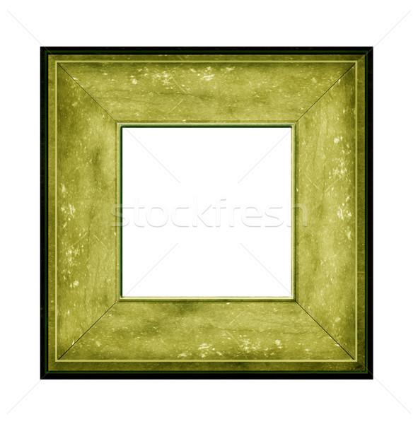 Fotolijstje hout muur ontwerp achtergrond Stockfoto © janaka