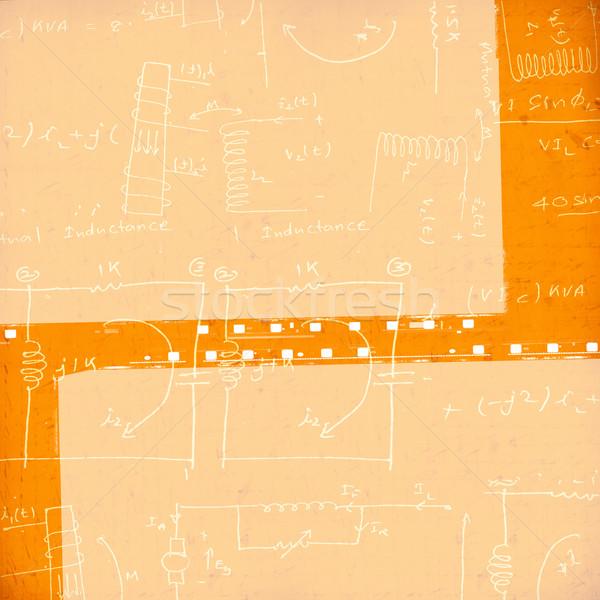 Régi papír közelkép fal absztrakt terv festék Stock fotó © janaka
