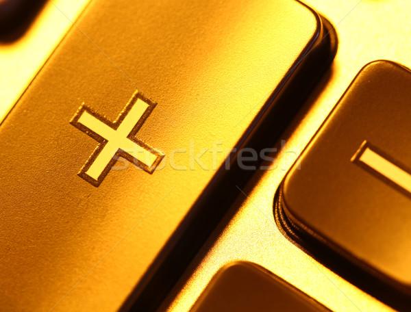 Calculator digitale werk technologie financieren Stockfoto © janaka