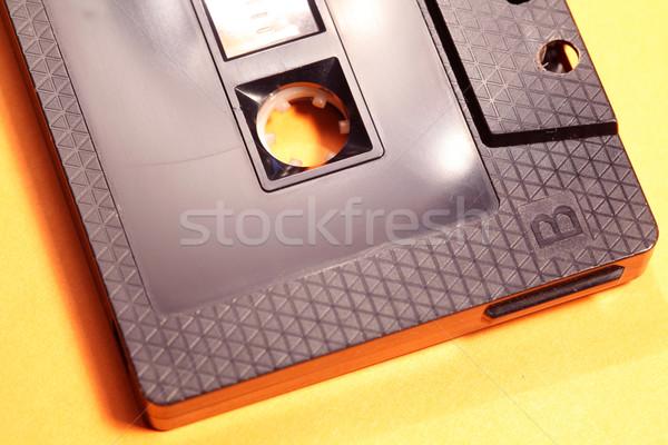 Audio Cassette Stock photo © janaka