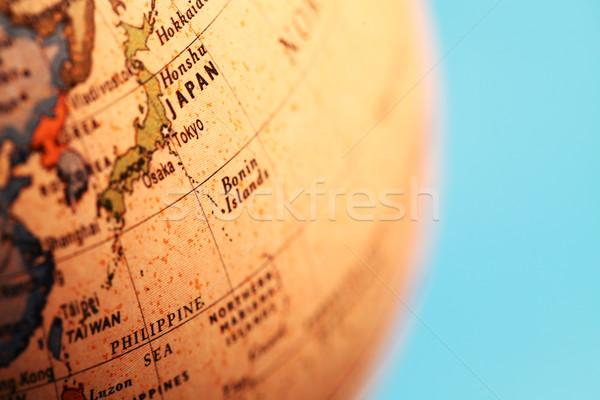 Vintage globe Stock photo © janaka