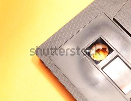 Audio kaseta klasyczny grać taśmy Zdjęcia stock © janaka