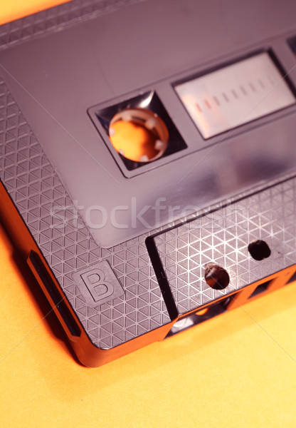 Audio cassette klassiek spelen tape Stockfoto © janaka