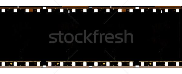 öreg film közelkép textúra művészet fekete Stock fotó © janaka