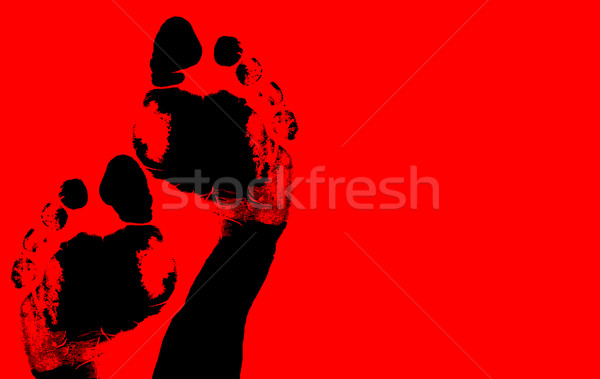 Foot print Stock photo © janaka
