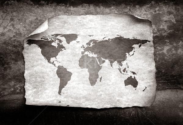 Vintage world map Stock photo © janaka