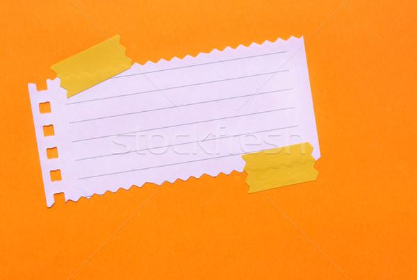 Note Paper Stock photo © janaka