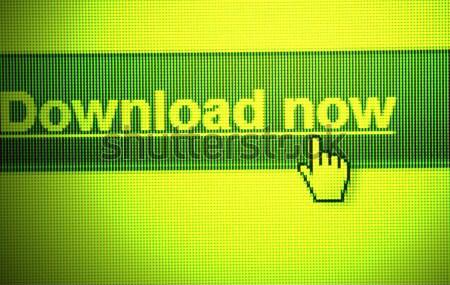 Web simgesi bilgisayar dünya alışveriş ağ Stok fotoğraf © janaka