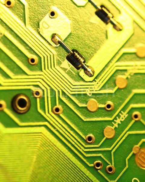 Circuito elettronica internet industria scienza Foto d'archivio © janaka