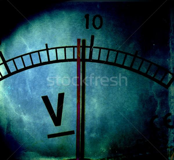 Elétrico ciência industrial poder escala Foto stock © janaka