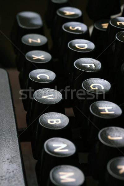 Stock photo: Typewriter
