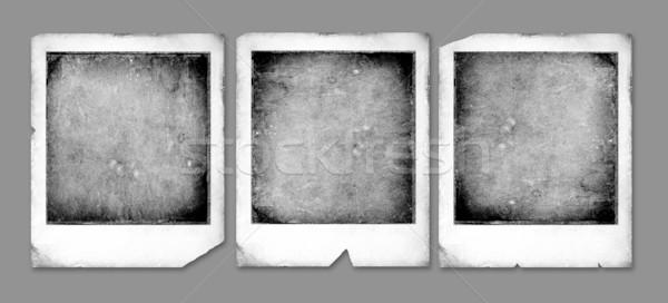 Polaroid старые фон кадр ретро Сток-фото © janaka