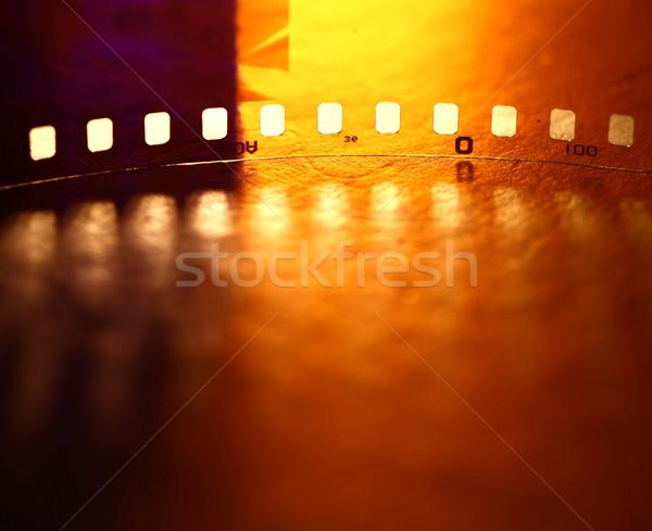 35 mm movie Film Stock photo © janaka