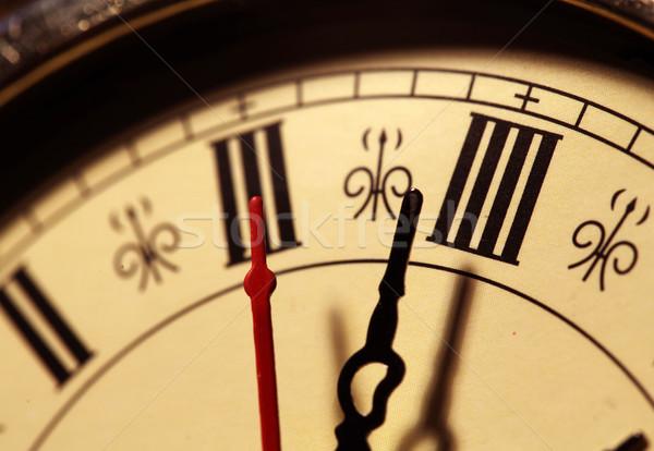 öreg számlap közelkép üzlet iroda idő Stock fotó © janaka