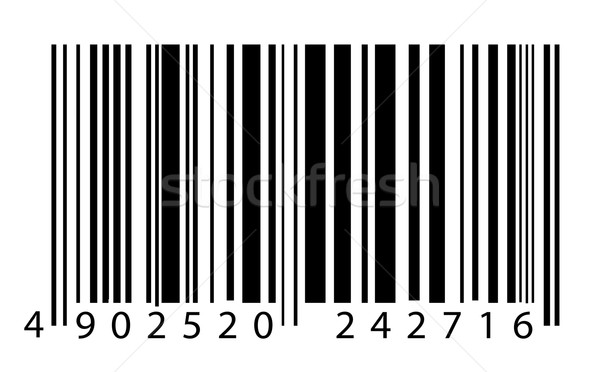 Bar code label Stock photo © janaka