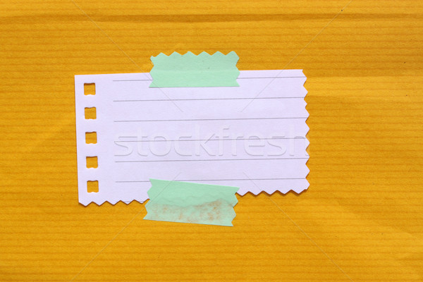 Levélpapír közelkép jegyzettömb papír iroda könyv Stock fotó © janaka