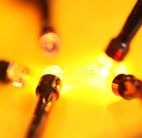 świetle nauki lampy energii kolor Zdjęcia stock © janaka