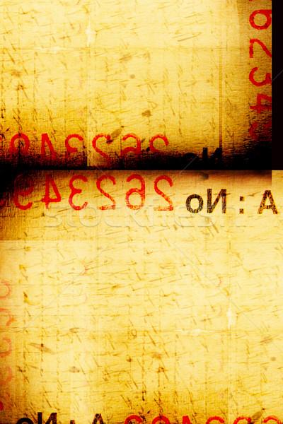 Burnt Paper Stock photo © janaka