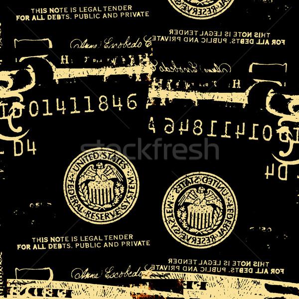 Soyut dolar iş kâğıt arka plan finanse Stok fotoğraf © janaka