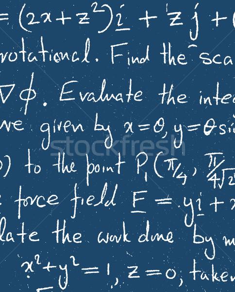 Matematyczny tekstury tle edukacji podpisania Zdjęcia stock © janaka