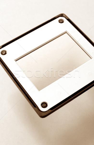35 milímetros filme quadro preto plástico Foto stock © janaka