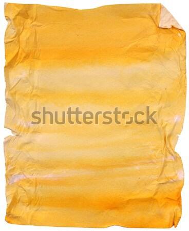 Régi papír közelkép háttér klasszikus minta pergamen Stock fotó © janaka