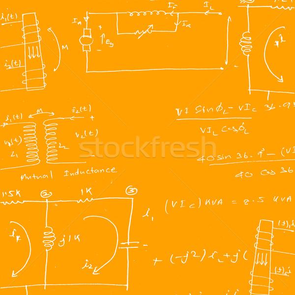 математический инженерных бумаги текстуры школы Сток-фото © janaka