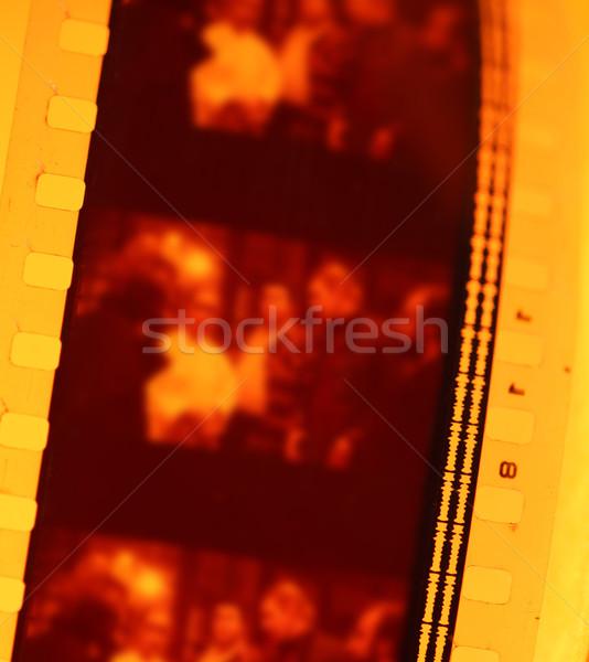 Eski 35mm film film şeridi sanat Stok fotoğraf © janaka
